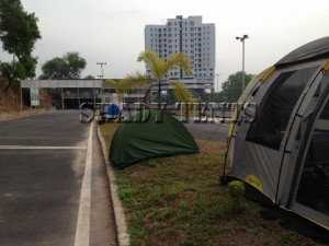 Urban Camping Go Karting + Barbecue + Overnight camping