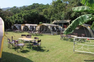 Family Camping Tent Party Area1